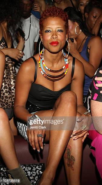 Kelis attends her 'Flesh Tone' album release party at Greenhouse on July 8 2010 in New York City