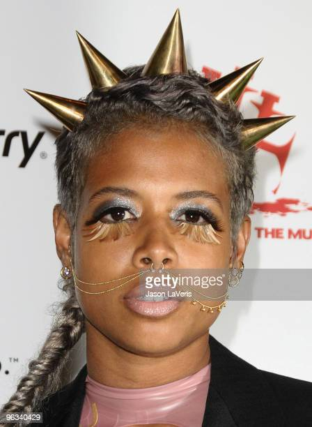 Kelis attends the 1st annual Data Awards at Hollywood Palladium on January 28 2010 in Hollywood California