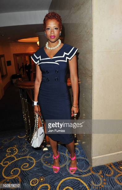 Kelis attends the 35th Nordoff Robbins 02 Silver Clef Awards at London Hilton on July 2 2010 in London England