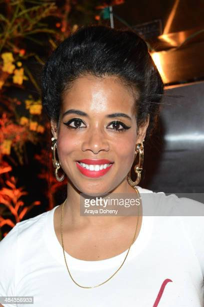 Kelis attends the FLAUNT Magazine Siwy present Virgin Sacrifices event on April 12 2014 in Coachella California