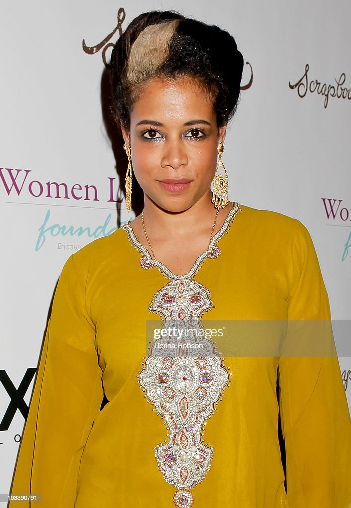 Kelis attends the pre-LAFW launch party in support of the Women Like Us Foundation at Lexington Social House on March 8, 2013 in Hollywood, California.