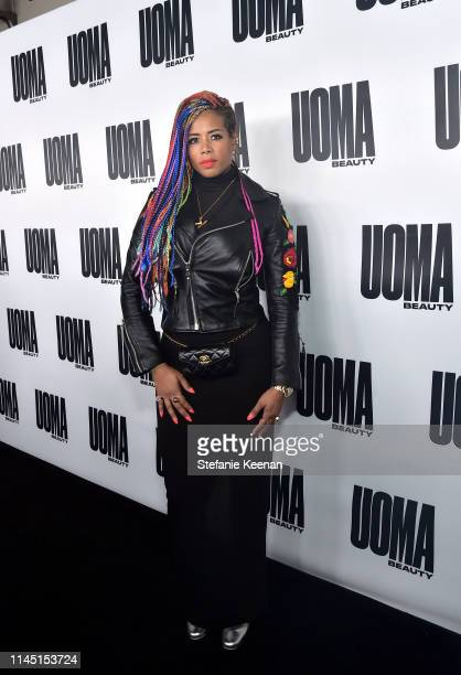 Kelis attends UOMA Beauty Launch Event at NeueHouse Hollywood on April 25 2019 in Los Angeles California