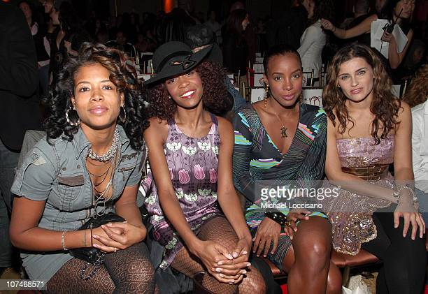 Kelis Michelle Williams Kelly Rowland and Nelly Furtado