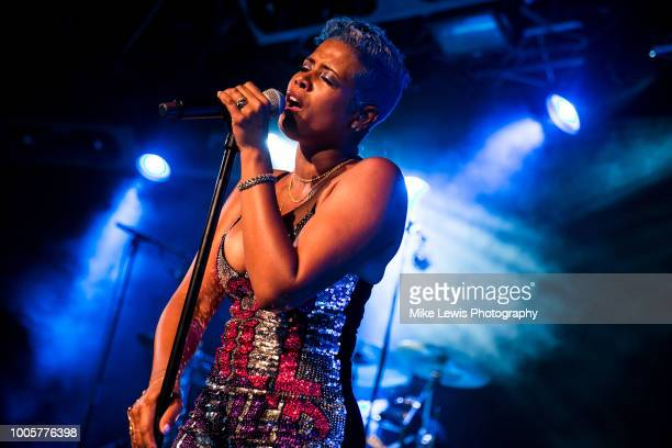 Kelis performs at Tramshed on July 26 2018 in Cardiff Wales
