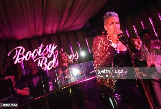 Kelis performs during Amber Rose x Simply Be Launch Party at Bootsy Bellows on June 20 2018 in West Hollywood California