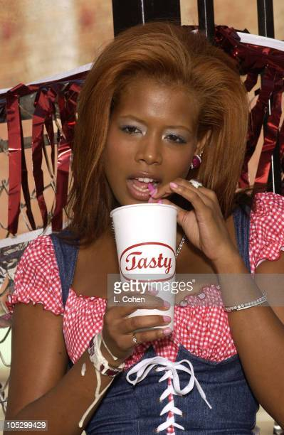 Kelis video stills from the single Milkshake shot on Sept8 2003