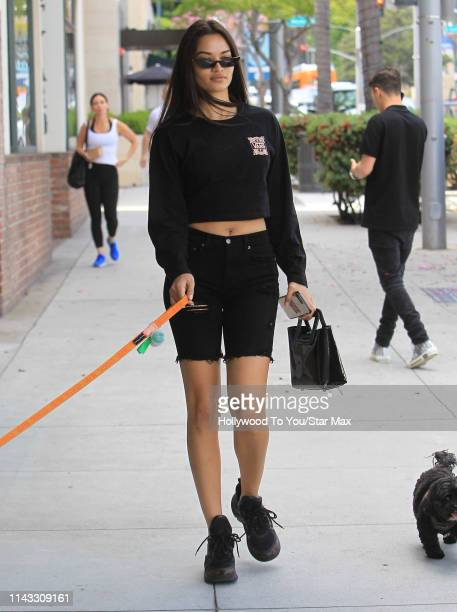 Kell Gayle is seen on May 11, 2019 in Los Angeles, California.