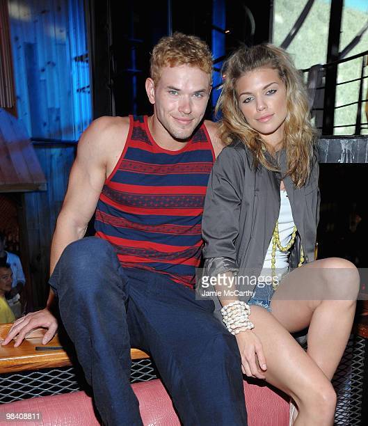 UNSPECIFIED NETHERLANDS ANTILLES APRIL 10 Kellan Lutz and Annalynne McCord attend Tantra Nightclub and Sanctuary in St Maarten on April 10 2010 in...