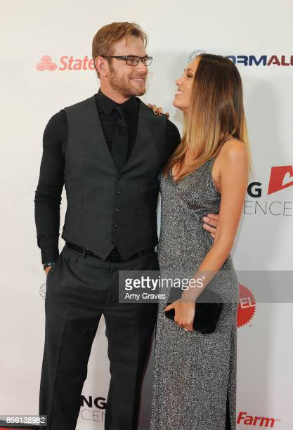Kellan Lutz and Brittany Gonzales attend The 6th Annual Saving Innocence Gala at the Loews Hollywood Hotel on September 30 2017 in Hollywood...