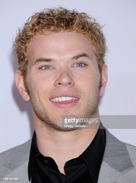 Kellan Lutz arrives at the Calvin Klein Collection and Los Angeles Nomadic Division Present L.A. Arts Month on January 28, 2010 in Los Angeles,...