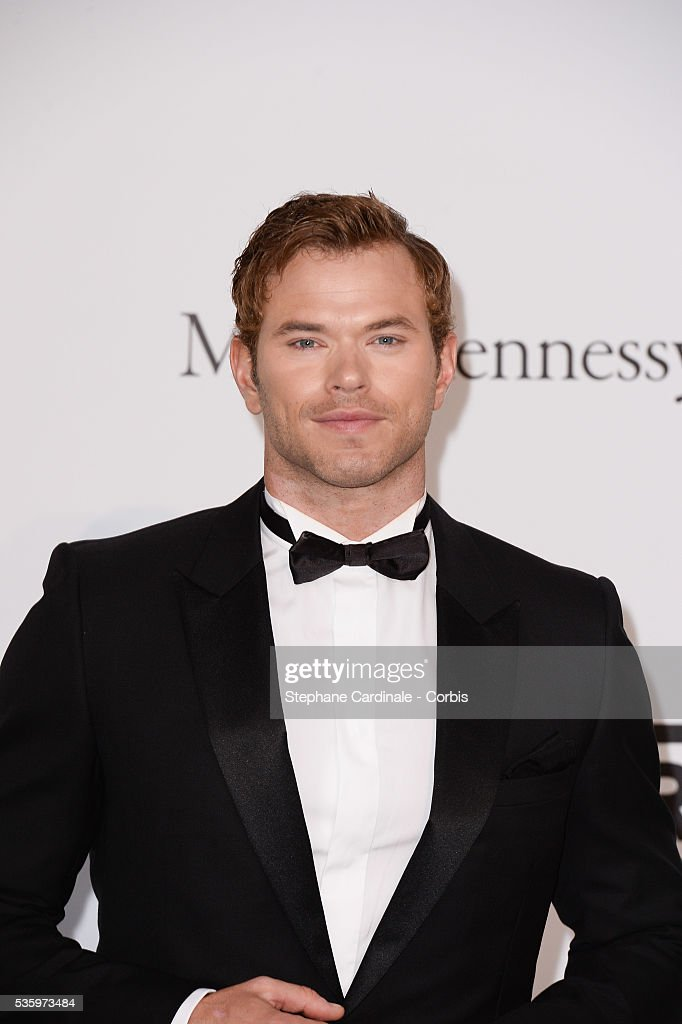 Kellan Lutz at the amfAR's 21st Cinema Against AIDS Gala at Hotel du Cap-Eden-Roc during the 67th Cannes Film Festival