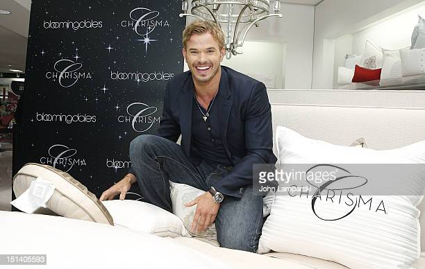 Kellan Lutz attends Bloomingdale's for Charisma on Fashion Night out on September 6 2012 in New York City