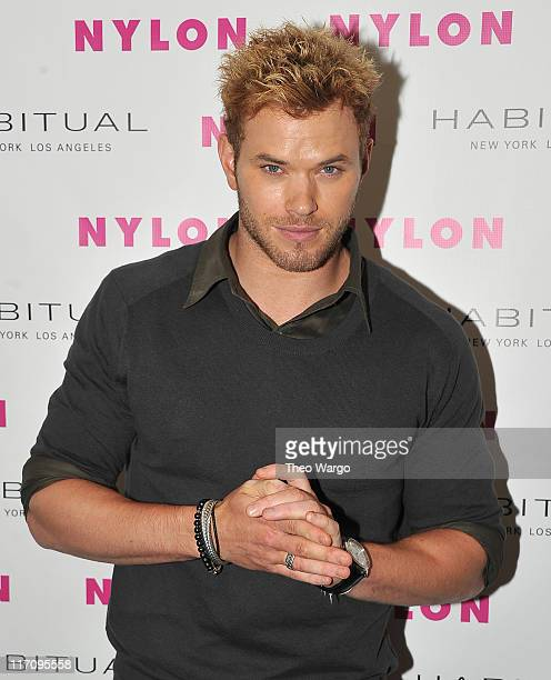 Kellan Lutz attends the 2011 Nylon Music Issue Launch Party on June 21 2011 in New York United States