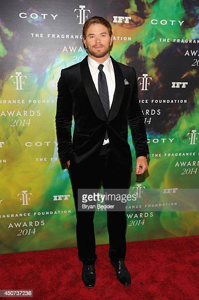 Kellan Lutz attends the 2014 Fragrance Foundation Awards on June 16 2014 in New York City