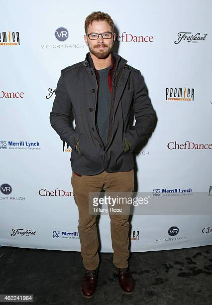 Kellan Lutz attends the ChefDance 2015 presented by Victory Ranch and Sponsored by Merrill Lynch, Freixenet and Anchor Distilling on January 25, 2015...