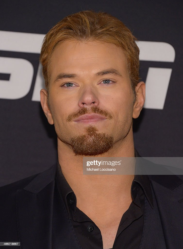 Kellan Lutz attends the ESPN The Party at Basketball City - Pier 36 - South Street on January 31, 2014 in New York City.