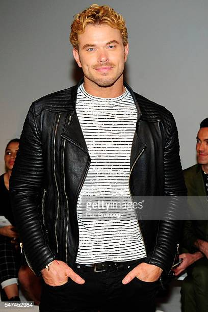 Kellan Lutz attends the General Idea show during New York Fashion Week Men's S/S 2017 at Skylight Clarkson Sq on July 14 2016 in New York City