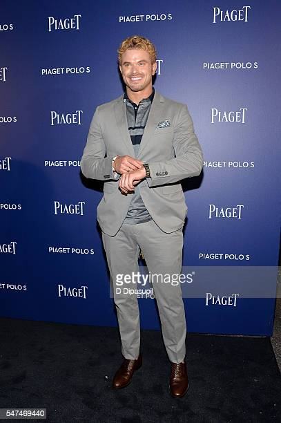 Kellan Lutz attends the Piaget new timepiece launch at the Duggal Greenhouse on July 14, 2016 in New York City.