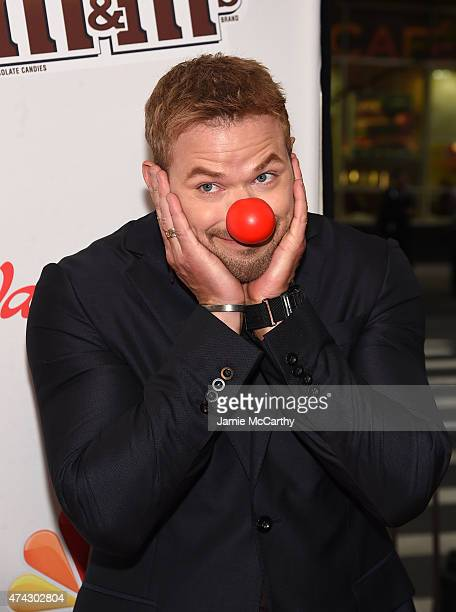 Kellan Lutz attends the Red Nose Day Charity Event at Hammerstein Ballroom on May 21 2015 in New York City