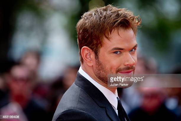 Kellan Lutz attends the World Premiere of 'The Expendables 3' at Odeon Leicester Square on August 4 2014 in London England