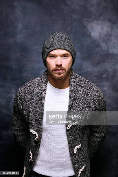 Kellan Lutz is photographed for Los Angeles Times at the 2015 Sundance Film Festival on January 24 2015 in Park City Utah PUBLISHED IMAGE CREDIT MUST...