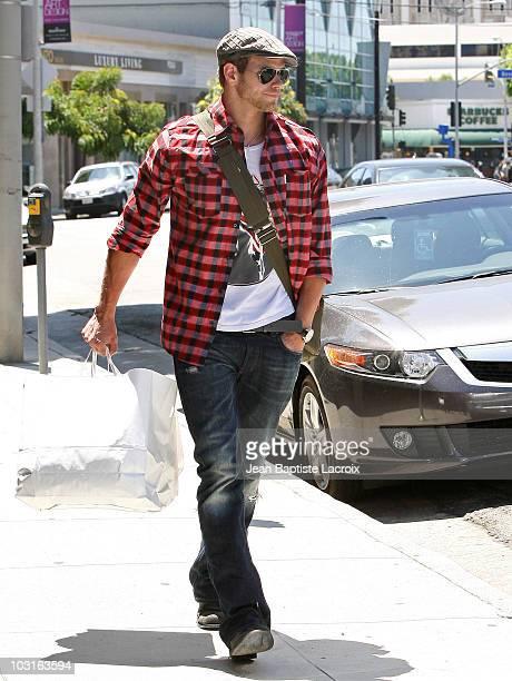 Kellan Lutz is seen on July 29 2010 in Los Angeles California