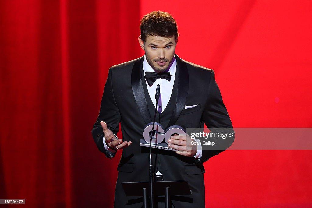 GQ Men Of The Year Award 2013 - Show : News Photo