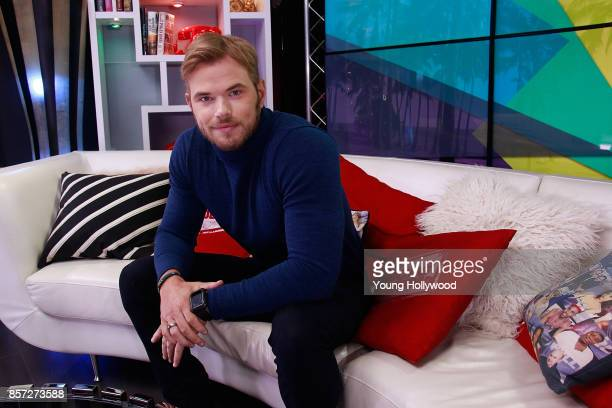 Kellan Lutz visits the Young Hollywood Studio on October 3 2017 in Los Angeles California