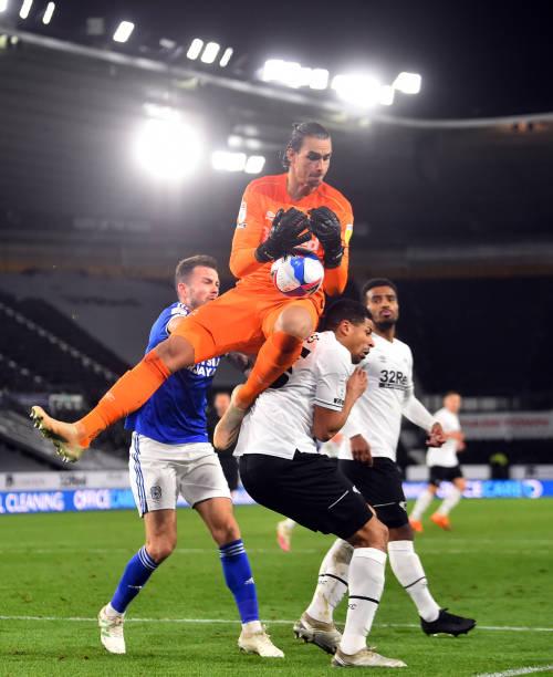 GBR: Derby County v Cardiff City - Sky Bet Championship
