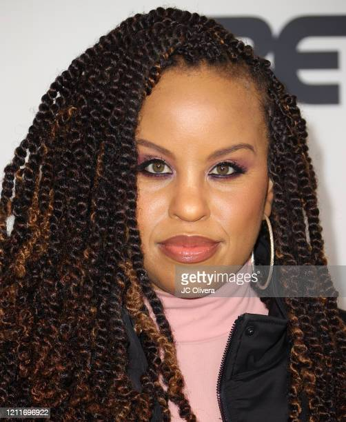 """Kellee Stewart attends the premiere of BET's """"Boomerang"""" Season 2 at Paramount Studios on March 10, 2020 in Los Angeles, California."""