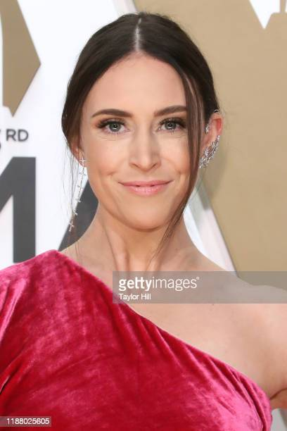 Kelleigh Bannen attends the 53nd annual CMA Awards at Bridgestone Arena on November 13 2019 in Nashville Tennessee