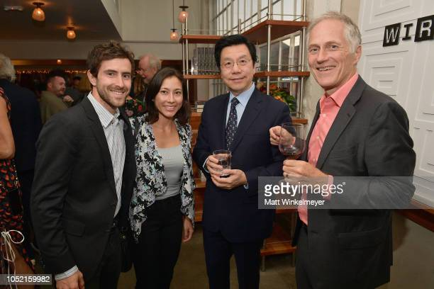 Keller Rinaudo Stephanie Nevins KaiFu Lee and Tim O'Reilly attend VIP Dinner For WIRED's 25th Anniversary Hosted By Nicholas Thompson And Anna...