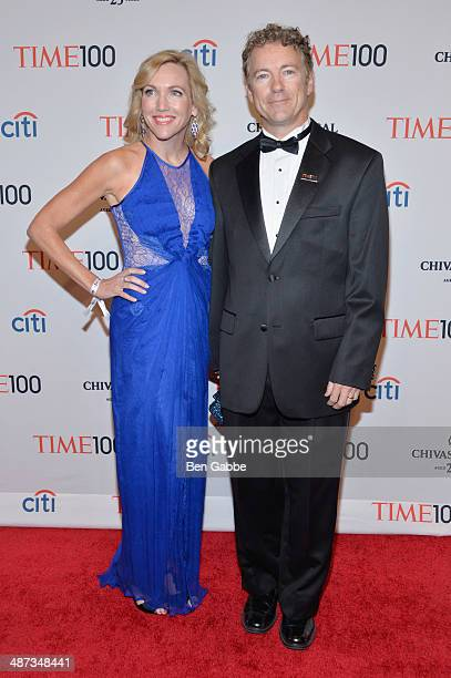 Kelley Ashby and Honoree Rand Paul attend the TIME 100 Gala TIME's 100 most influential people in the world at Jazz at Lincoln Center on April 29...