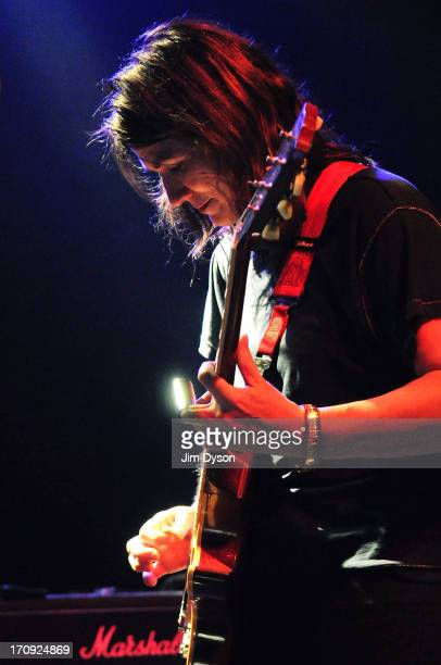 Kelley Deal of The Breeders performs live on stage at The Kentish Town Forum on June 19 2013 in London England