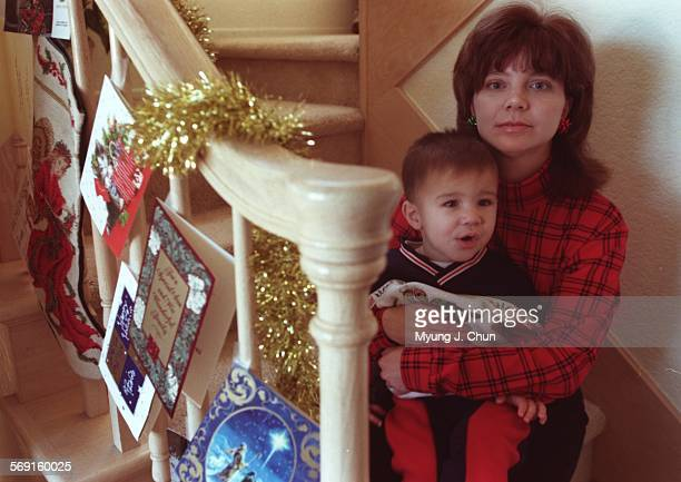 Kelley Fornatoro of Calabasas, CA and her son Brian, 19–months–old, had a shocking experience Wednesday at Promenade at Woodland Hills when a Santa...
