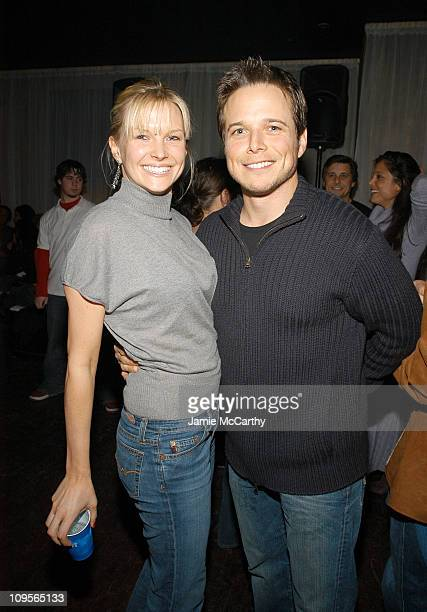 Kelley Limp and Scott Wolf during 2005 Park City Marquee Opening Night Party at Buddha Bar at Harry O's in Park City Utah United States
