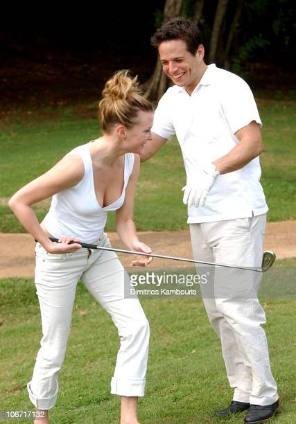 Kelley Limp and Scott Wolf during Beaches Resorts Celebrity Golf Classic to Benefit St Jude Children's Research Hospital at Royal Plantation Golf...