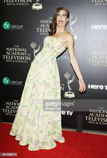 Kelley Missal arrives at the 41st Annual Daytime Emmy Awards held at The Beverly Hilton Hotel on June 22 2014 in Beverly Hills California