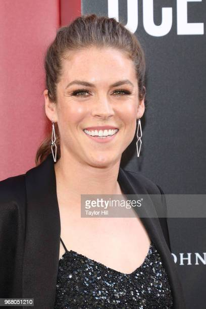 Kelley O'Hara attends the world premiere of Ocean's 8 at Alice Tully Hall at Lincoln Center on June 5 2018 in New York City