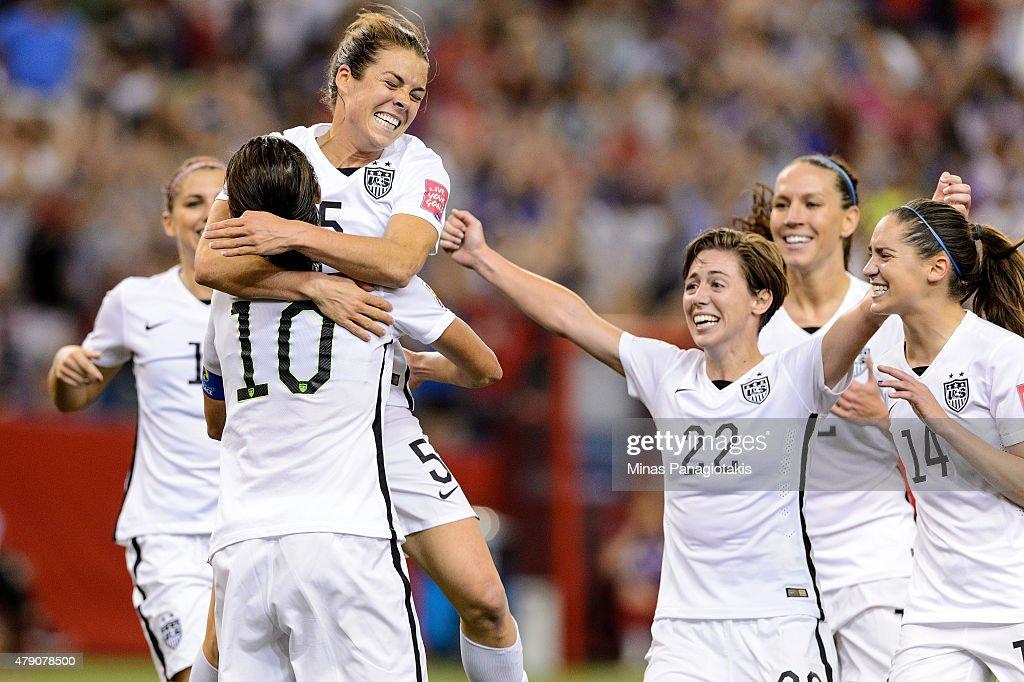USA v Germany: Semi-Final - FIFA Women's World Cup 2015 : News Photo