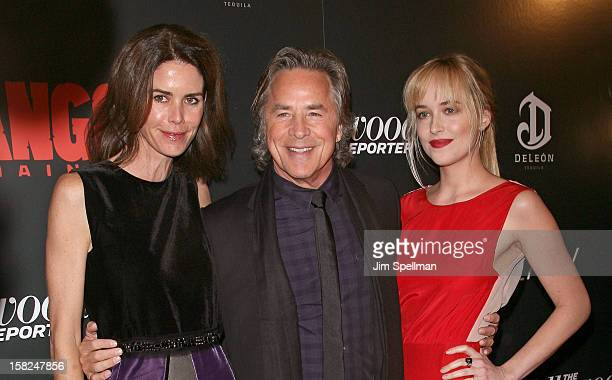 Kelley Phleger actor Don Johnson and Dakota Johnson attends The Weinstein Company with The Hollywood Reporter Samsung Galaxy The Cinema Society...