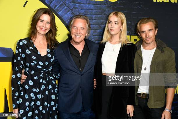 Kelley Phleger Don Johnson Grace Johnson Jesse Johnson attend the Premiere Of HBO's Watchmen at The Cinerama Dome on October 14 2019 in Los Angeles...