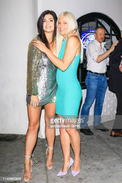 Kelley Wentworth and Lauren O'Connell are seen on May 14 2019 in Los Angeles California