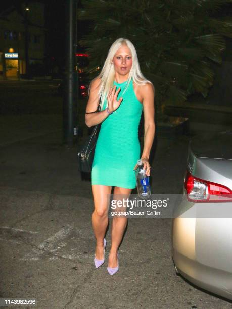 Kelley Wentworth is seen on May 14 2019 in Los Angeles California