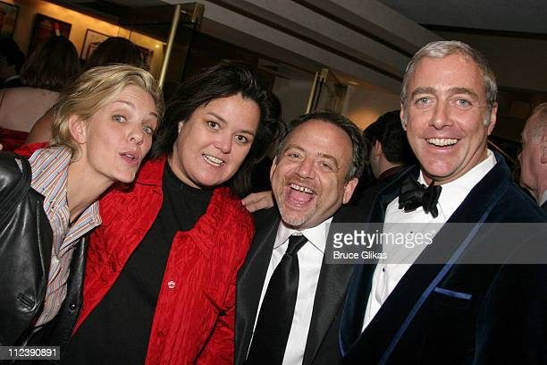 Kelli and Rosie O'Donnell with Scott Wittman and Marc Shaiman