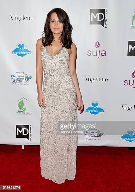 Kelli Berglund attends The Dream Builders Project 3rd Annual 'A Brighter Future For Children' Charity Gala at Taglyan Cultural Complex on March 3...