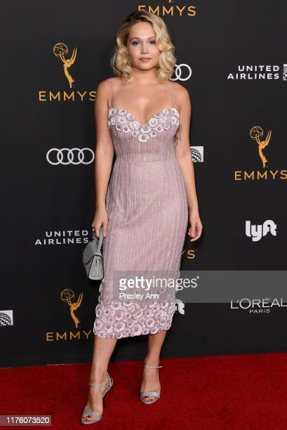 Kelli Berglund attends the Television Academy honors Emmy nominated performers at Wallis Annenberg Center for the Performing Arts on September 20...
