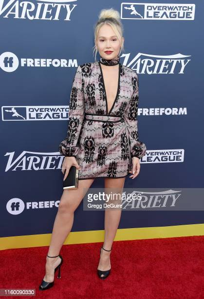 Kelli Berglund attends Variety's Power Of Young Hollywood at The H Club Los Angeles on August 6 2019 in Los Angeles California