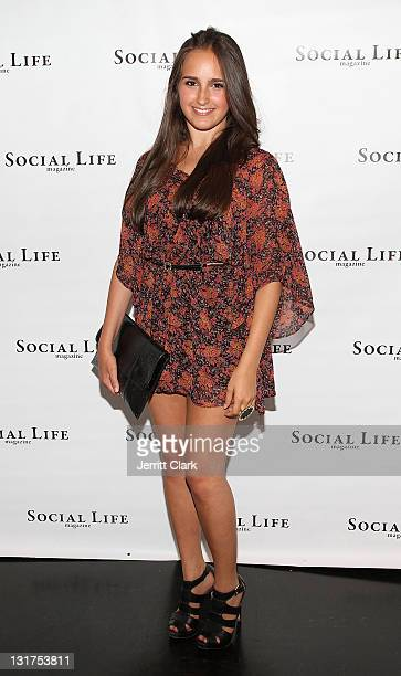Kelli Brooke Tomashoff attends the social life magazine party at The Social Life Estate on July 3 2010 in Watermill New York