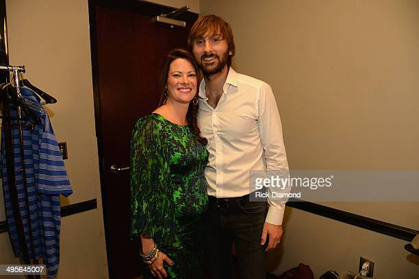 Kelli Cashiola and Dave Haywood attend the 2014 CMT Music Awards at Bridgestone Arena on June 4 2014 in Nashville Tennessee